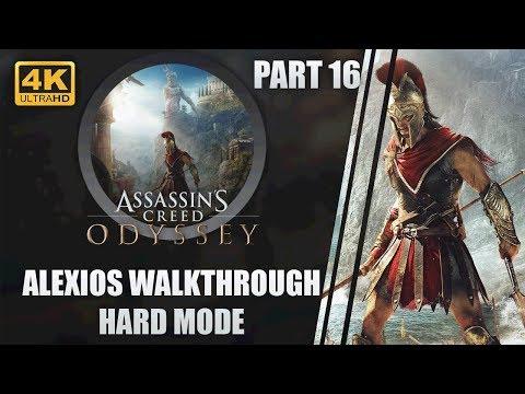 "Assassin's Creed: Odyssey | Hard Walkthrough | Xbox One X 4K | Part 16 ""Hippokrates"" thumbnail"