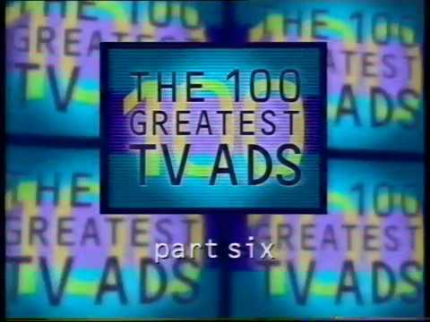 100 Greatest TV adverts (Channel 4, 2000) pt 3 - 19 to 1