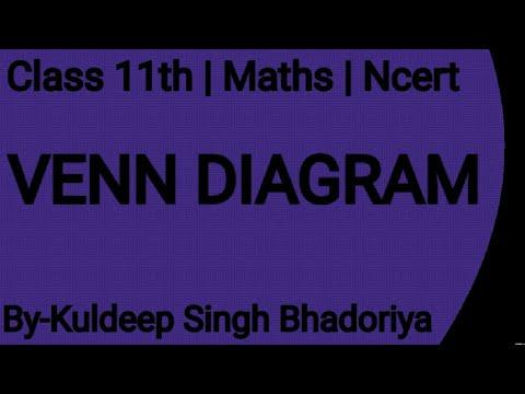 Class 11th   Maths   Ncert   venn diagram - YouTube