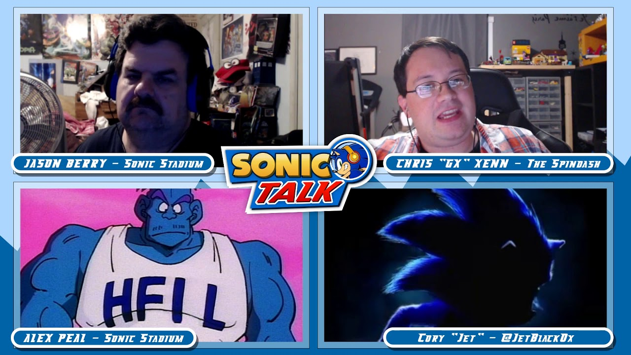 Sonic Talk 57 Two Hours On Three Posters Youtube