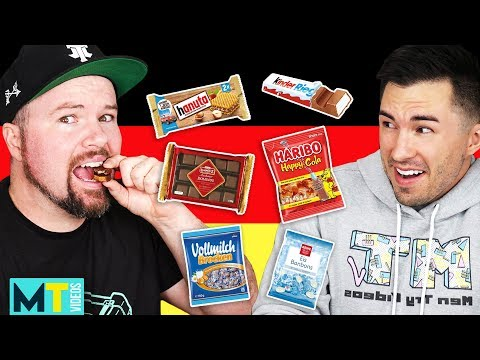 Americans Try Weird German Treats - Taste Test