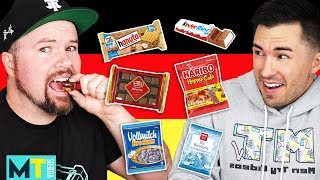 Americans Try Weird German Treats - Taste Test