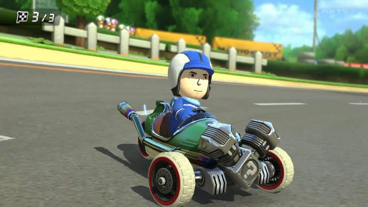 Mario Kart 8 Showcase Tri Speeder Youtube