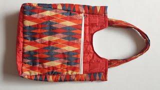 Market bag  with 2 pocket ll shopping bag ll lunch bag ll shoulder bag
