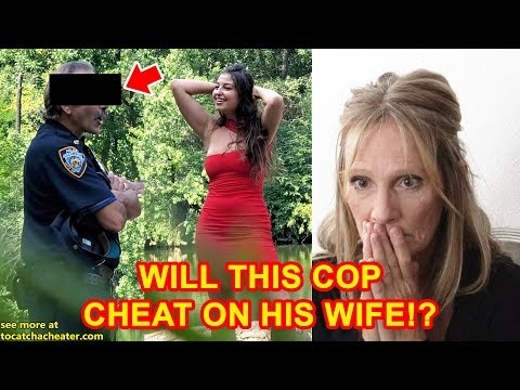 NYPD Cop Busted Cheating On The Job!... Or Is He!?   To Catch A Cheater