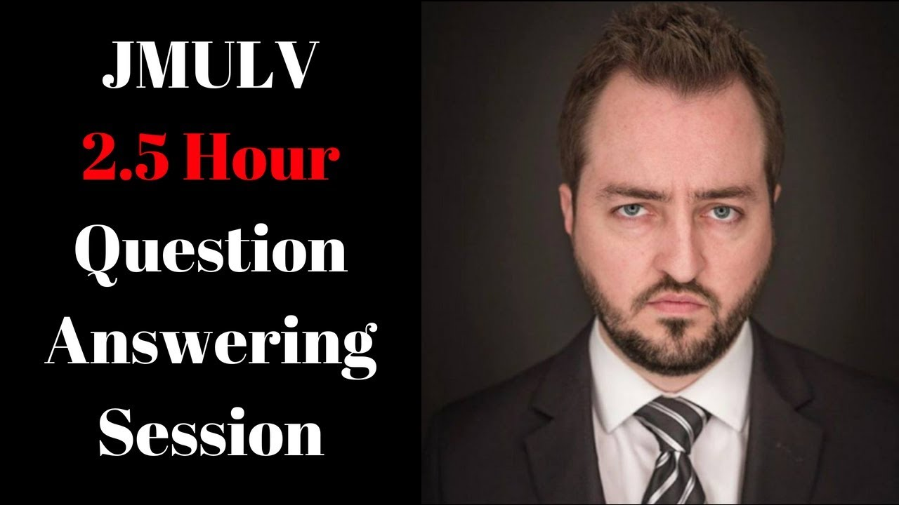 JMULV 2.5 Hour Question Answering Session - Timestamps in Video Description