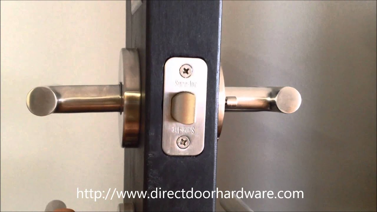 Sure Loc Juneau Modern Door Lever. Direct Door Hardware