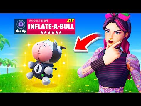 *NEW* MYTHIC COW item in Fortnite! (Secrets + Leaks)