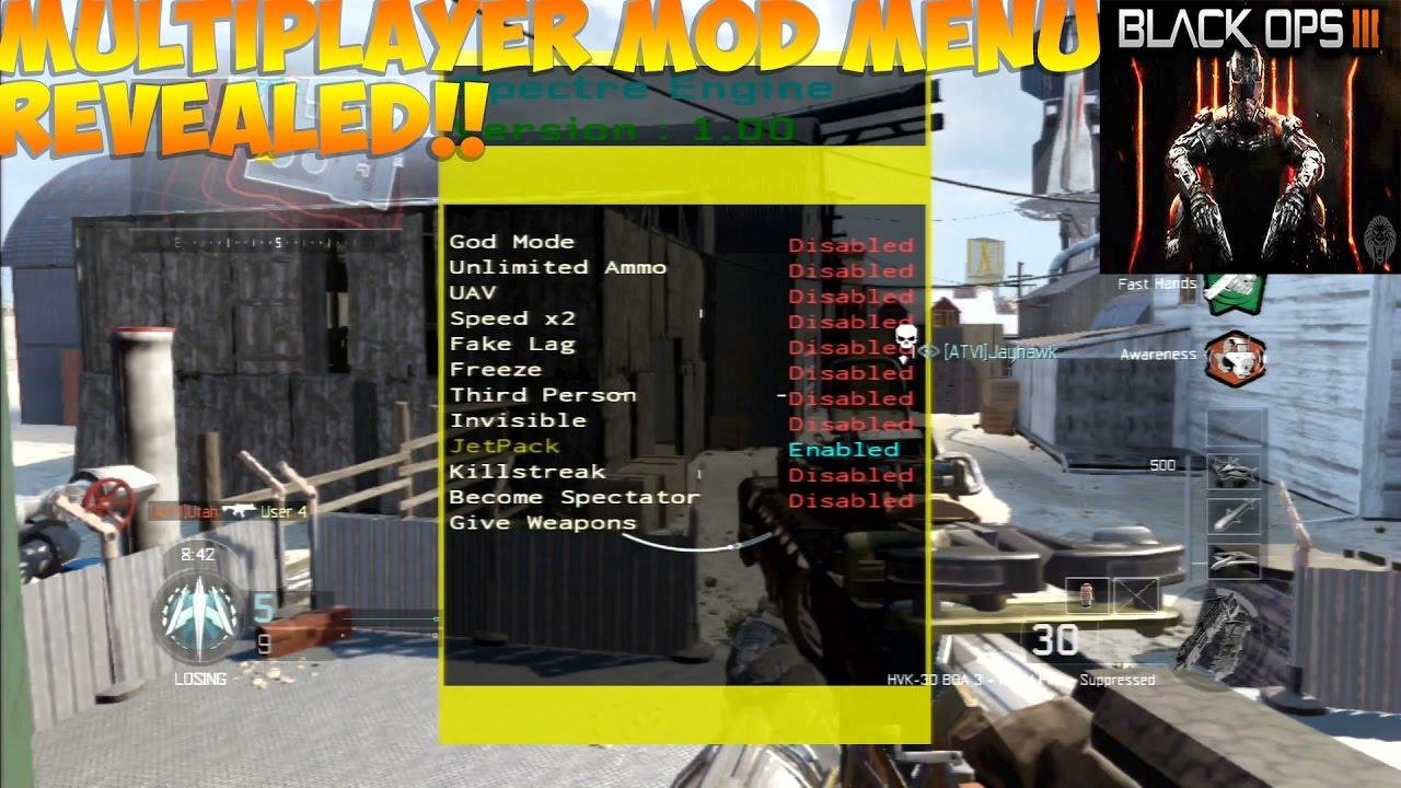 Call of duty 4 multiplayer mod menu