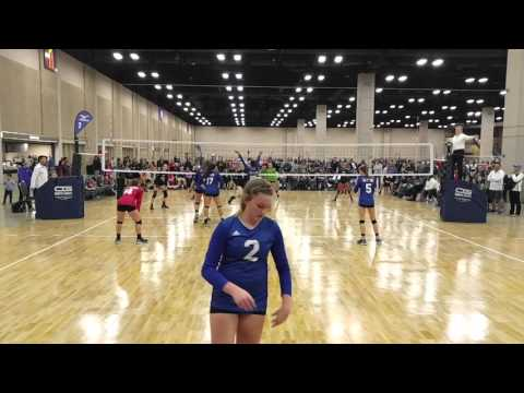 2016 Tour of Texas -  Skyline Royal vs. Mad Frog 1st Set