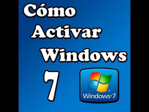 Cómo Activar Windows 7 32/64 Bits [Cualquier Versión]   2016