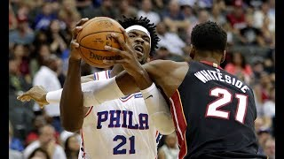 Joel embiid vs hassan whiteside