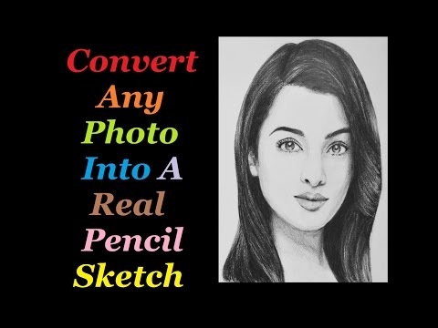 How To Convert Any Photo Into Real Pencil Sketch In Android