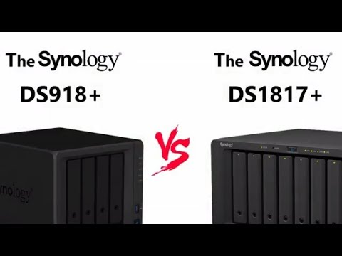 The DS918+ NAS versus DS1817+ Synology Flagship NAS Comparison