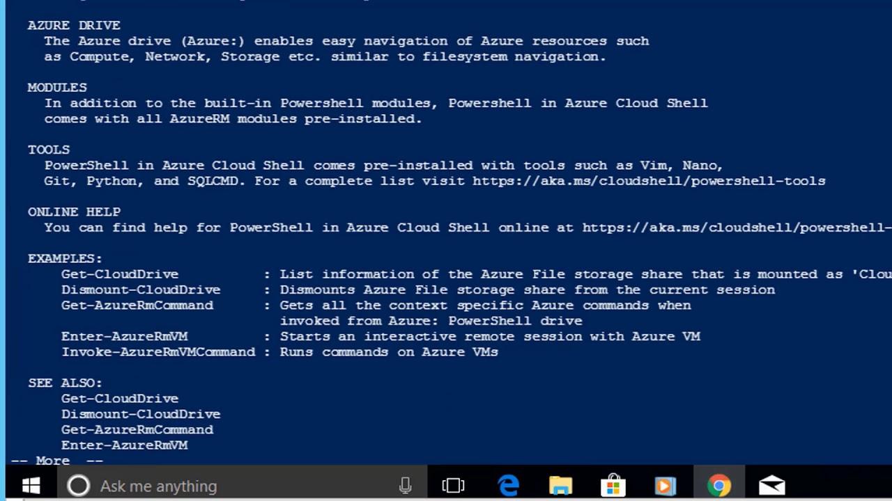Video 3 - Azure PowerShell Administration Express Tutorial