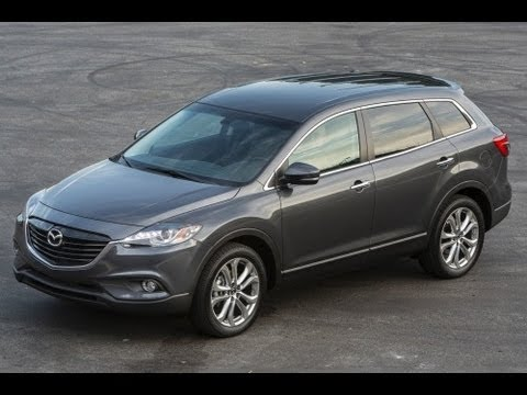 2013 Mazda CX-9 Start Up and Review 3.7 L V6