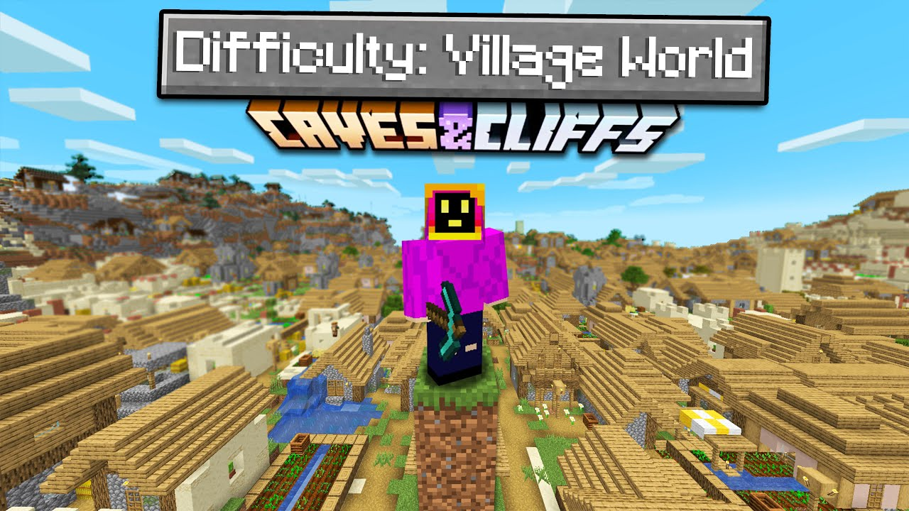 Can You Beat Minecraft On A Village Only World?