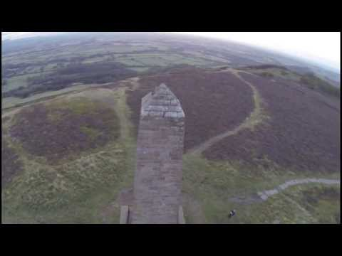 Aerial video of Captain Cook's Monument