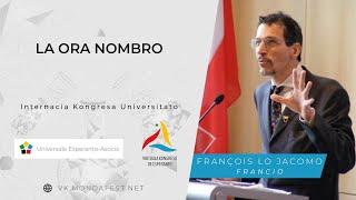 VK 2020: Studsesio de AIS: La ora nombro (François Lo Jacomo, Francio)