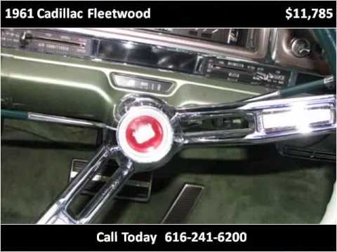 1961 cadillac fleetwood used cars grand rapids mi youtube. Black Bedroom Furniture Sets. Home Design Ideas