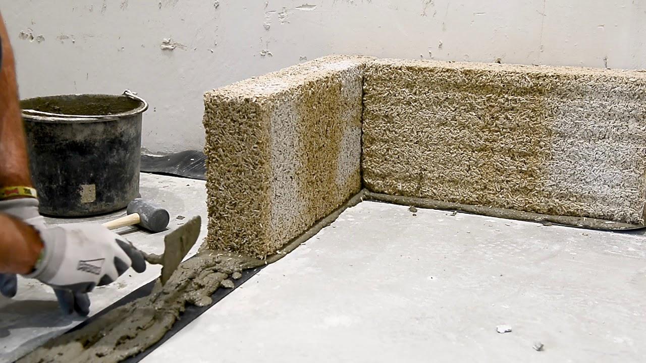 How to start an Isohemp hemp block masonry?
