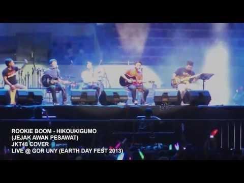 Rookie Boom - Hikoukigumo (Jejak Awan Pesawat) - JKT48 Cover - Live @ GOR UNY (EDF2013) 20-04-13