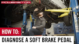 How To Diagnose a Spongy or Soft Brake Pedal   PowerStop