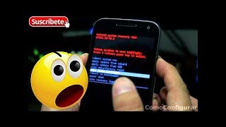 Moto G 3ra Generacion 2015 Hard Reset Restablecer dispositivo al estado Fábrica