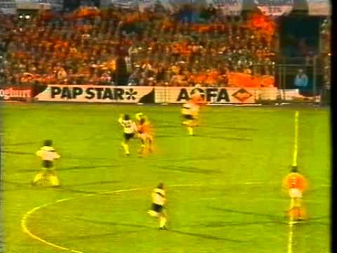 WM 90 Qualifier Holland v Germany 26th APR 1989 #1