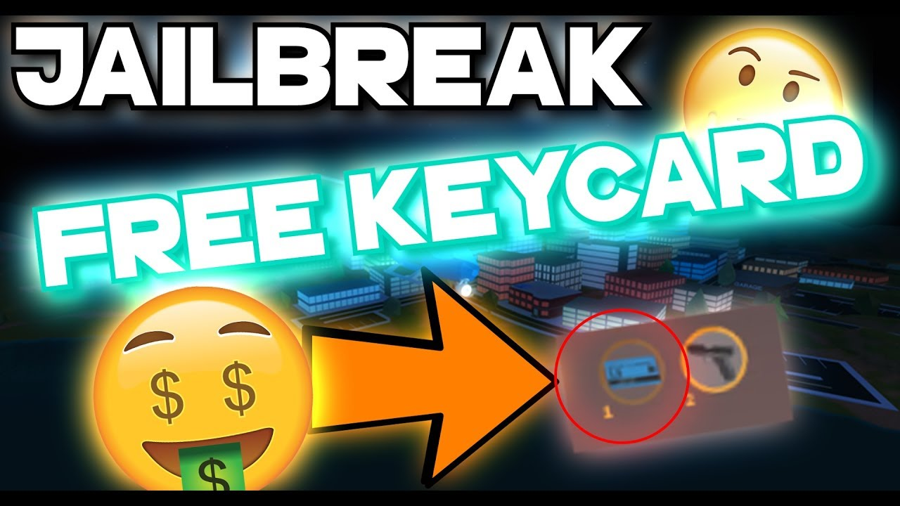 Roblox Jailbreak Free Keycard As Prisoner How To Get Free Keycard With No Friends Youtube