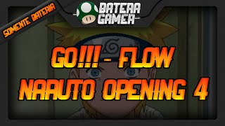 SÓ BATERIA/ONLY DRUMS - Naruto Opening 4 (GO!!! - Flow)