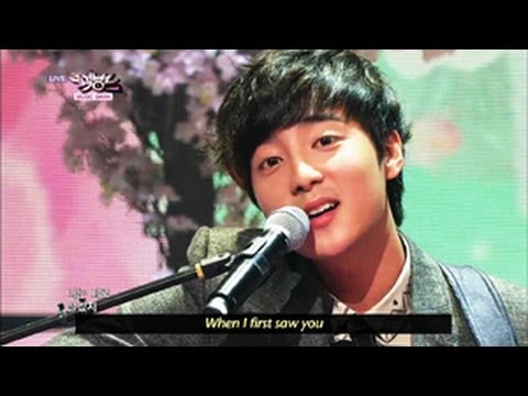 Roy Kim - Bom Bom Bom (2013.05.18) [Music Bank w/ Eng Lyrics]