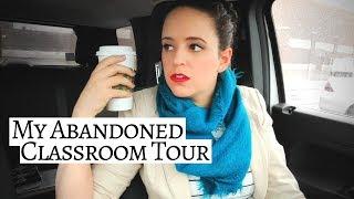 ABANDONED CLASSROOM TOUR | Covid-19 Closed School Tour | Music Classroom Tour