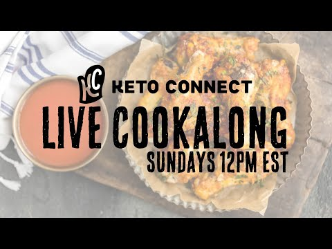 NFL Pregame Keto Cook Along - Crispy Wings in the Oven thumbnail