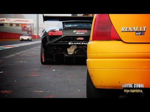 Renault Clio RS - Track day al Mugello - Davide Cironi Drive Experience