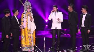 "[150411] M.I.C. vs. Henry Huo - peking opera ver. ""Faraway""@New Opera Show final (FanCam)"