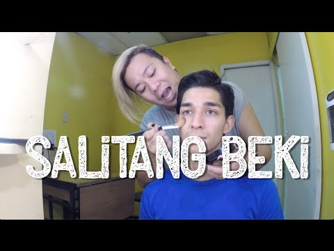 How To Speak Salitang Beki - Gay lingo (bekinese/swardspeak/bekimon)