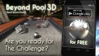Beyond Pool 3D Hole in one