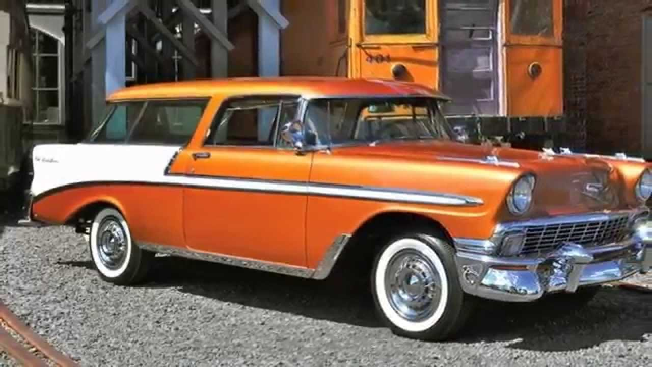 1956 chevrolet bel air images photo 56 chevy belair dv 06 - 1956 Chevrolet Bel Air Nomad Finished In Rare Sierra Gold