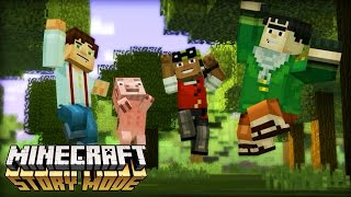 minecraft story mode incio da aventura 1 episdio 1