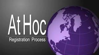 athoc registration video