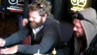 Bam Margera and Ryan Dunn @ Jackass 3D Movie Screening Philly 10/6/10