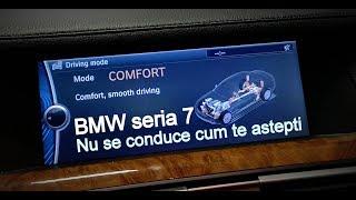 Bmw seria 7  3.0 diesel la InovAuto. Masina nu se conduce cum te astepti. Filmat cu Huawei p20 Pro