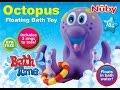 default - Nuby Bathtime Fun Bath Toys, Octopus Hoopla, Purple