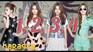 Lee Hi - 1, 2, 3, 4 [karaoke]