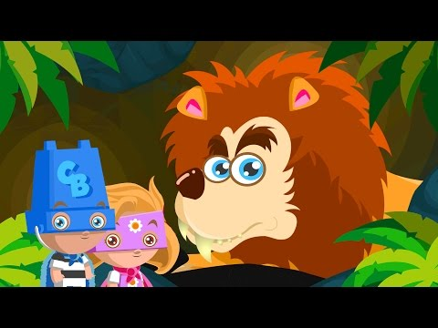 Going on a Lion Hunt | Kids Song Collection | Kindergarten Baby Songs by ABC Heroes | #ReadAlong