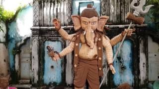 Ganesh Chaturthi 2016 - Panjim Goa - Part 1   SIDGOA