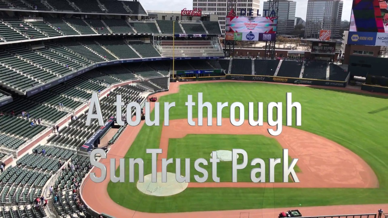 Tour Of Suntrust Park New Home The Atlanta Braves In Cobb County
