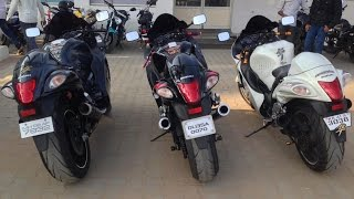 Suzuki Hayabusa With Scorpion Exhaust. LOUD Revvs & Acceleration!