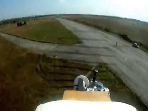 Радиоуправляемый самолет Katana на ДВС, камера на борту